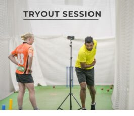 Tryout Session-Player evaluations and training